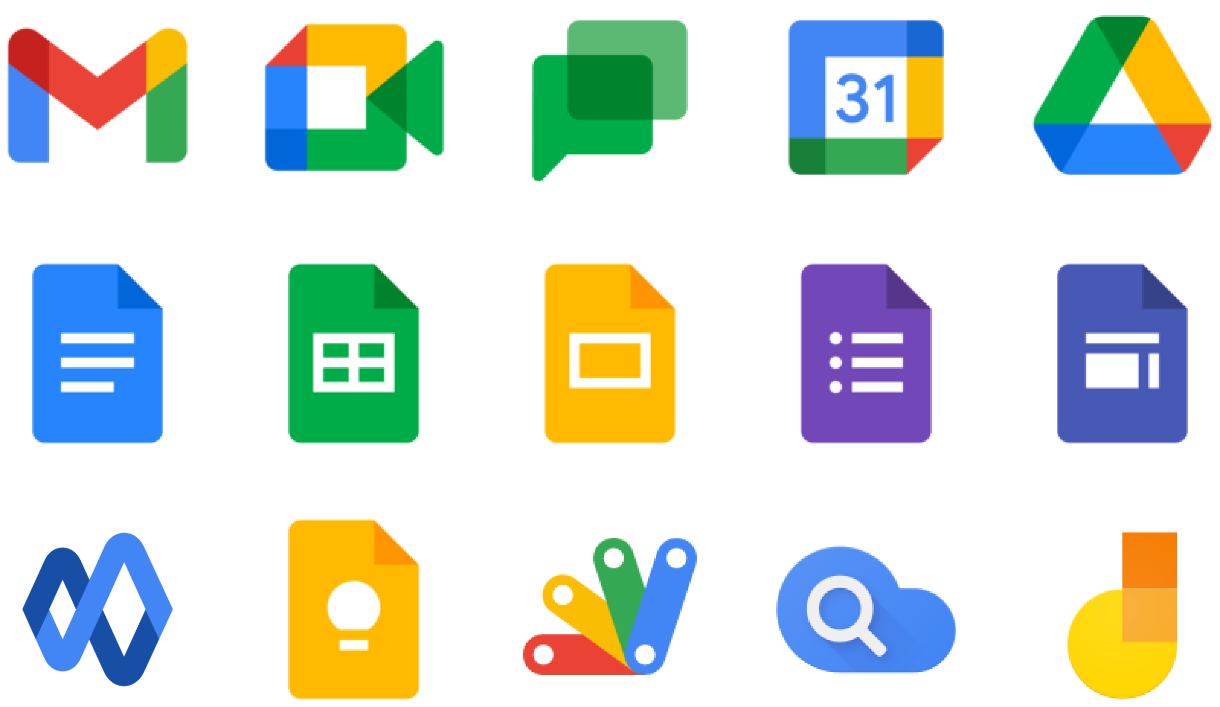 Revolgy - Google Workspace products