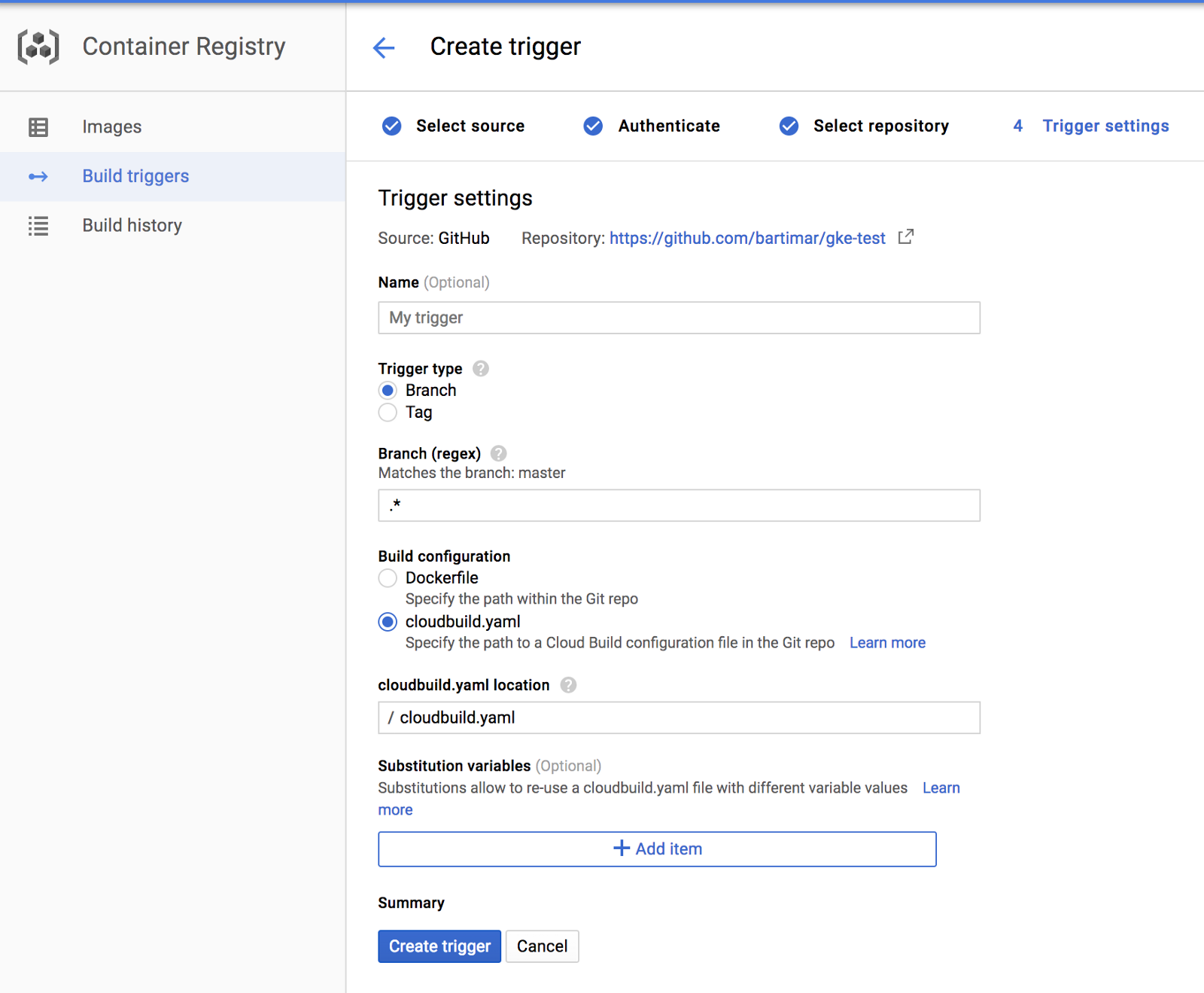 Google container builder for Easy and Quick CD Pipeline