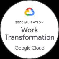 Revolgy - Google Cloud - specialization - Work Transformation