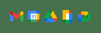 Revolgy - Google Workspace icons