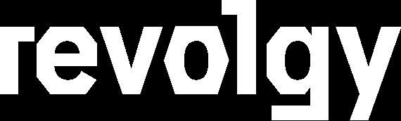 revolgy logo - white 190