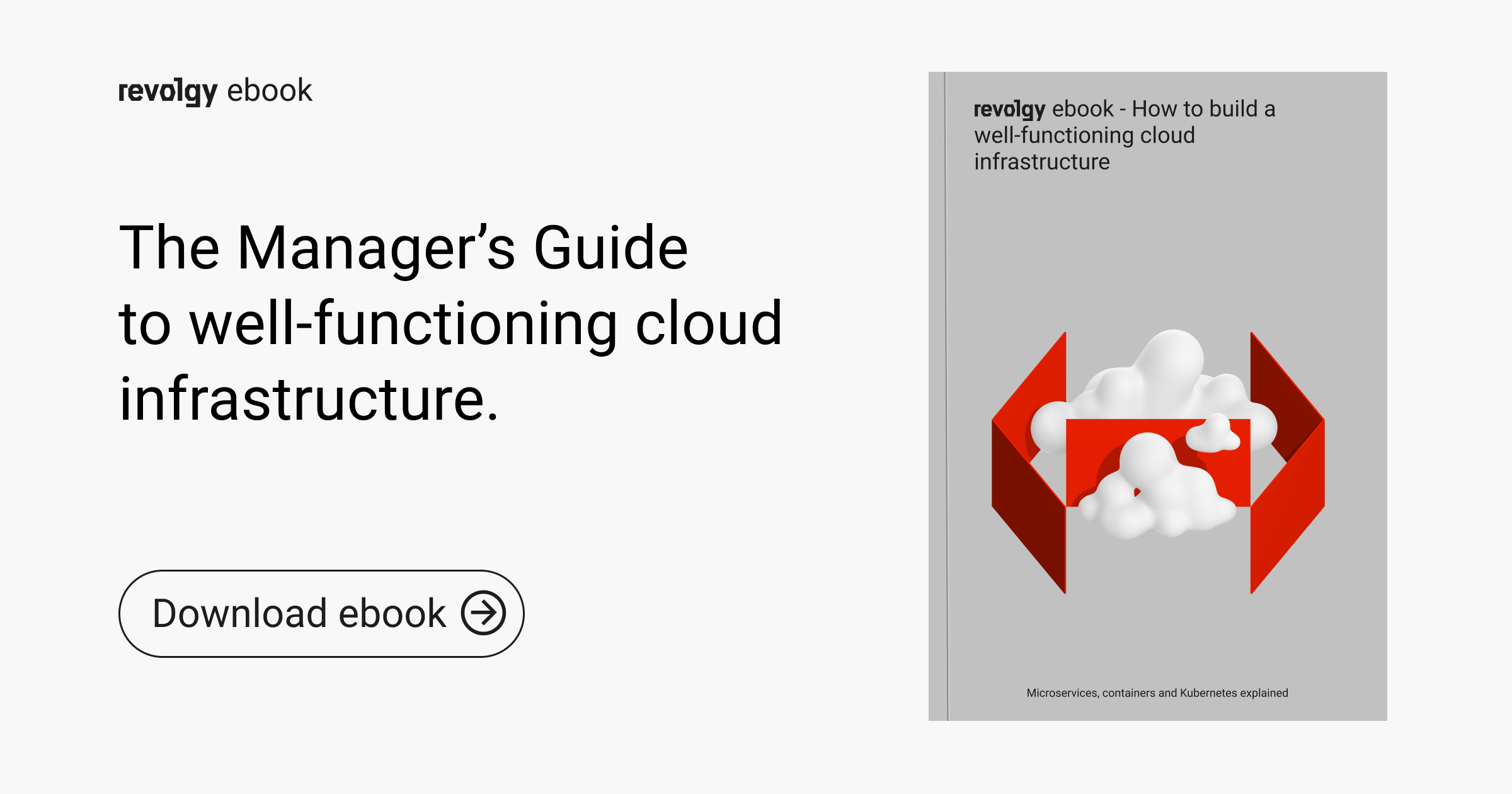 The Manager's Guide to well-functioning cloud infrastructure.