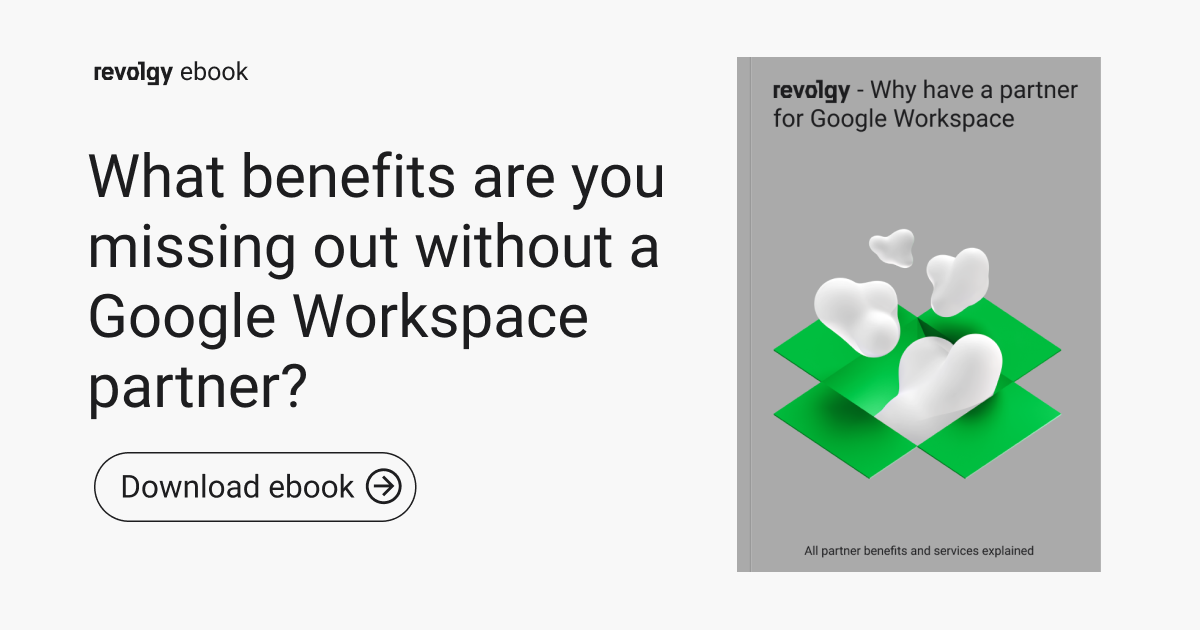 Why have a partner for Google Workspace