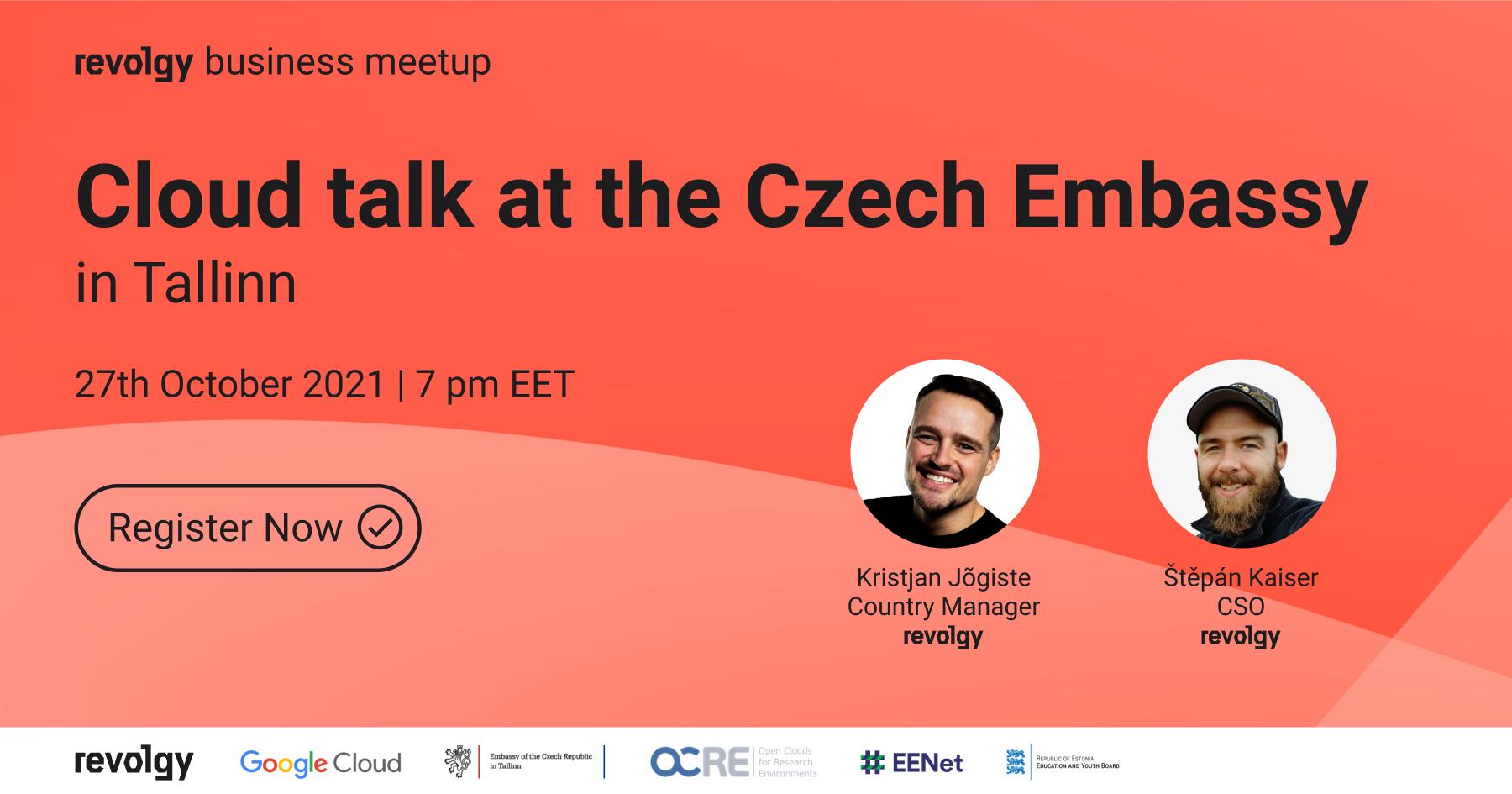 Cloud talk at the Czech Embassy